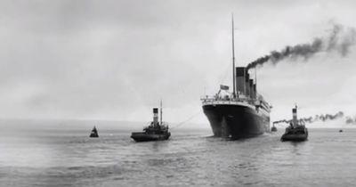 Das passiert gerade mit der Titanic